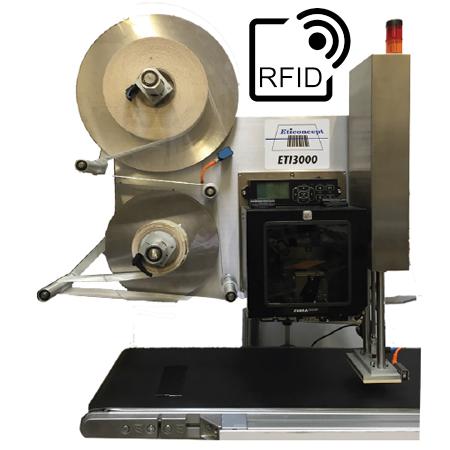 ETI 3000 TB RFID : système d'impression/pose d'ETICONCEPT