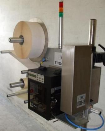 ETI 3000 TB : système d'impression/pose d'ETICONCEPT