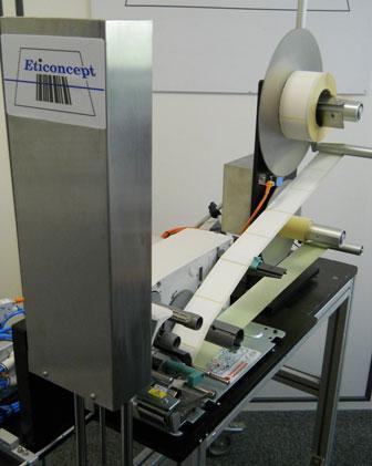 ETI 500 TB : système d'impression/pose d'ETICONCEPT