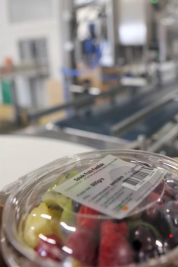 Barquette salade de fruits et ETI3000TB