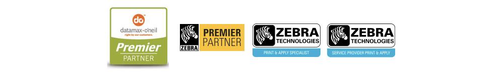 Logos des partenaires en imprimantes industrielles