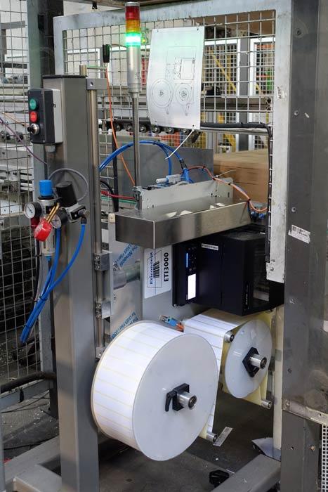 Demeyere : Système impression pose ETI3000 TB en pied