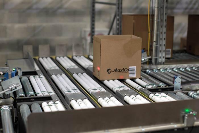 Maxicoffee : convoyeur automatisé