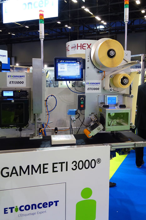 ETI3000 VTR avec son ordinateur de pilotage Verso+ 10