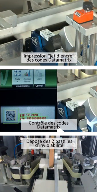 Pharma trace seal en 3 étapes