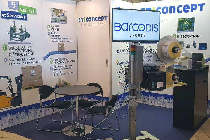 stand Eticoncept à Agro-industries Toulouse