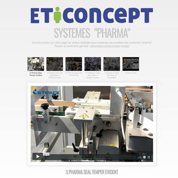 """Suivre ici le lien vers les vidéos """" Systèmes Pharma"""""""