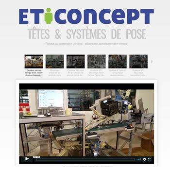 """lien vers les vidéos """"Systèmes et Têtes de pose"""""""