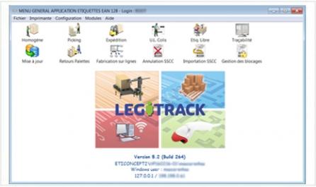 Ecran Legitrack