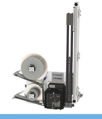 Système d'impression pose ETI 3000 TB à vérin électrique