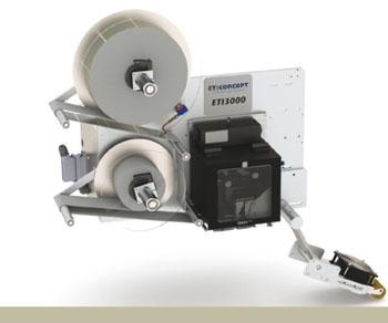Système d'impression pose ETI 3000 V