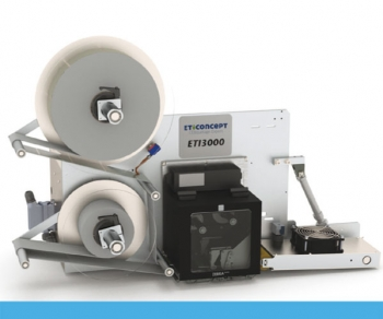 Système impression pose ETI 3000 VTI - défilement et vérin