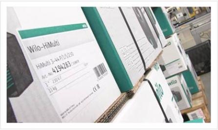 Traçabilité chez WIlo Salmson France - étiquetage