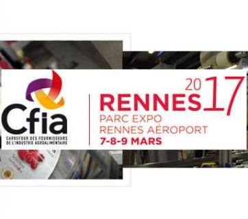 Eticoncept présent au CFIA 2017 à Rennes du 7 au 9 mars