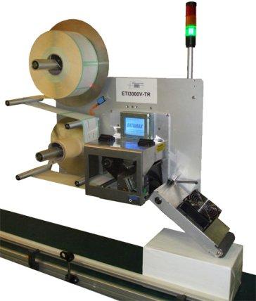 ETI 3000 V-TR : système d'impression/pose d'ETICONCEPT
