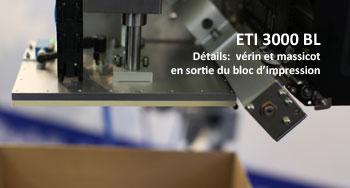 Detail de l'ETI 3000 BL