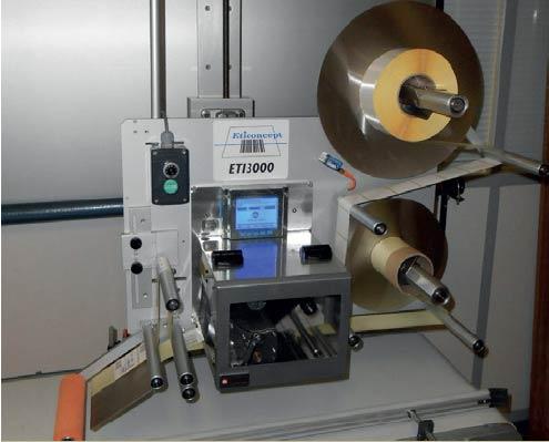 ETI 3000 LR : système d'impression/pose d'ETICONCEPT
