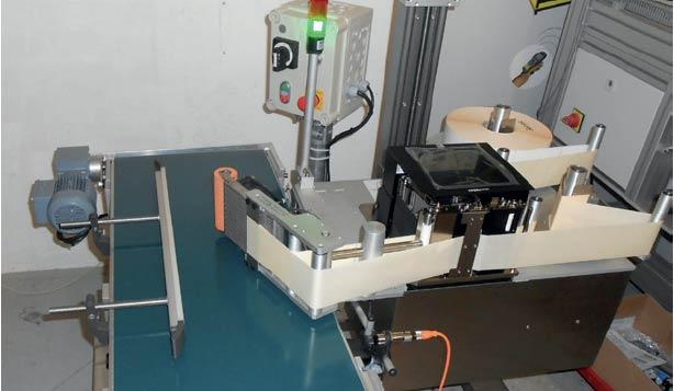 ETI 3000 V : système d'impression/pose de ETICONCEPT