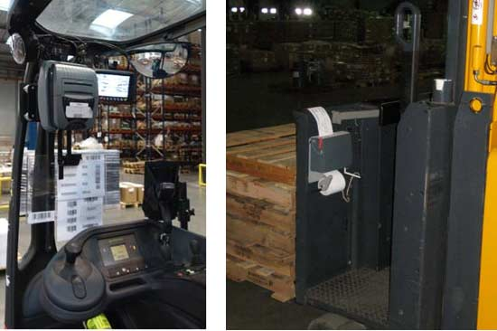 Imprimantes embarquées ZEbra et Datamax