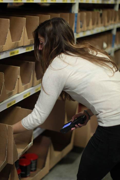Maxicoffee : picking - préparation de commande