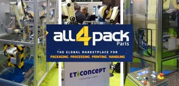 Stand Eticoncept au All4pack de paris