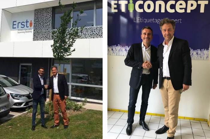 Accueil des deux nouveaux directeurs Barcodis