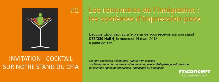 invitation du 14 mars au CFIA