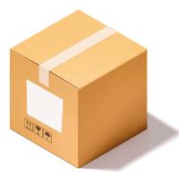dépose étiquette coté carton