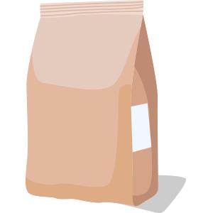 étiquette pose coté sac