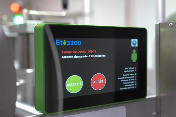 Ecran de pilotage et contrôle des ETI3200